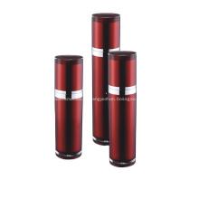 Bouteille de pompe de lotion d'emballage cosmétique vide de vin rouge