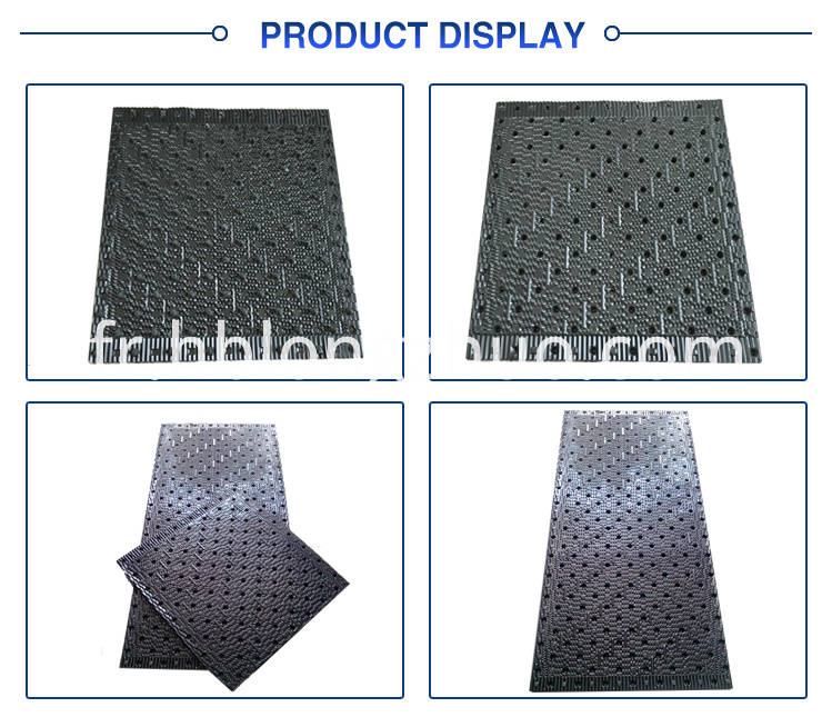 cross flow liangchi PVC cooling tower fill