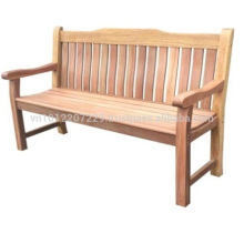 Meranti Outdoor / Gartenmöbel Set - 3-Sitzer Bank