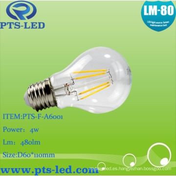 A60 4W 5W 6W 7W 8W 9W LED bombilla con intensidad regulable y no regulable
