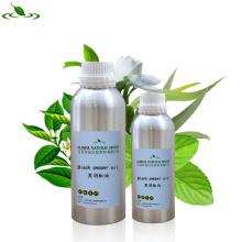 Aceite esencial de la pimienta negra natural orgánica pura