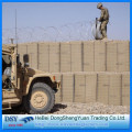 Heavily galvanized Military Sand Wall Hesco