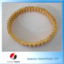 gold coated neodymium magnets for jewelry