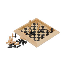 Juego de mesa de madera Juguetes de tablero de ajedrez de madera (CB2038)