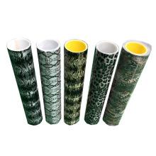Korea Quality Decorative Pattern HTV Pu Soft Metallic Heat Transfer Vinyl Film for Clothing