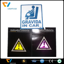 Colorful Reflective Safety Sticker for Bicycle Helmet