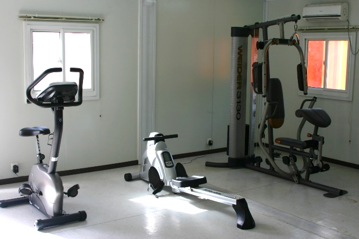 Flat Pack Gym Room