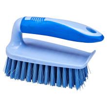El 14.5 * 6 * 9cm modificó el cepillo plástico de la limpieza del clavo del buen precio del diseño