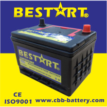 Preço de fábrica 50ah 12V Auto Parts American Vehicle Battery Bci-58-Mf
