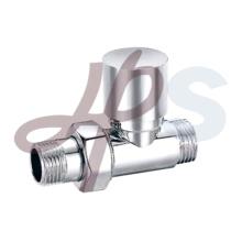 Brass radiator valve for heating system