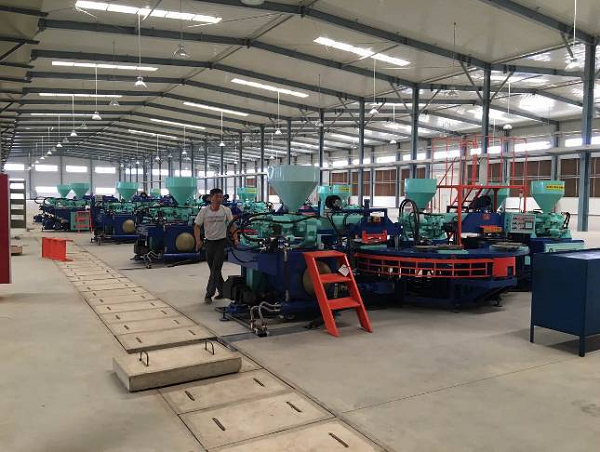 Three Color Pvc Upper Injection Moulding Machine 2