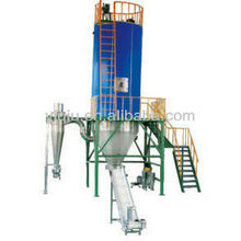 Air stream Spray dryer for solvent