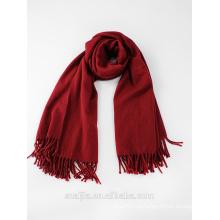 Женщины твердый зимний шарф пашмины