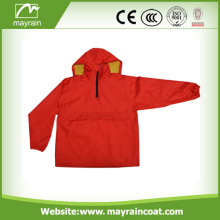 Foldable Cheap Polyester Rain Outdoor Jacket