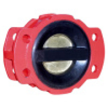 Dual Plate Rubber Coated Check Valve EPDM Seat