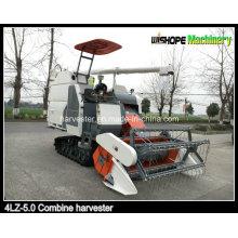 Rubber Track Combine Harvester 4lz-5.0 Ventas en Perú