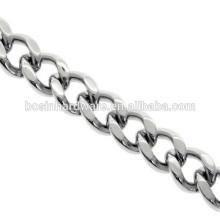 Atacado Vários Cadeia Alta Qualidade Metal Curb Cadeia De Aço Inoxidável