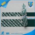 Fita de vedação de segurança para fita de selagem de saco de correio / correio