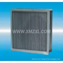 Filtro HEPA de alta temperatura