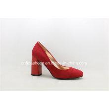 Novo design de salto alto Moda Lady Shoes