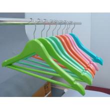 Bunte Kinder hölzernen Kleiderbügel für den Großhandel