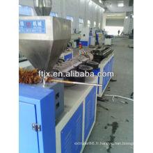 machine à tubes extension
