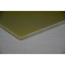 Эпоксидная стеклянная ткань Ламинированная желтоватая Epgc 203