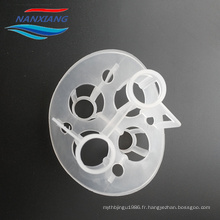 Produits de porcelaine de Nan Xiang 100mm en plastique Heilex anneaux, PP, PE, RPP, PVC, CPVC, PVDF