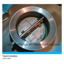 ANSI Stainless Steel Dual Disc Wafer Butterfly Check Valve