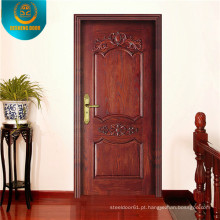 Porta de entrada de porta de segurança de porta de aço