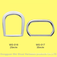 Type D Buckle Made of Zinc Alloy