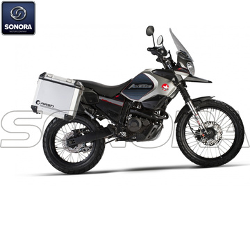 MASH ADVENTURE 400cc Euro 3 AVEC VALISES Touring Body Kit Ricambi originali
