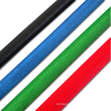 Colorful Halogen Free Silicone Fiberglass Tube Fiber Glass Braided Sleeve