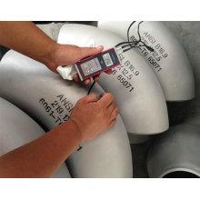 Raccords de tuyaux en aluminium Coude, ciseau 6061 T6, matériau de construction de navire