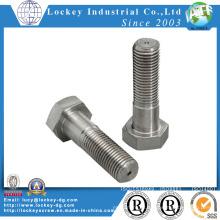 Aço Inoxidável 316 Parafuso Hex DIN931