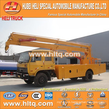 DONGFENG 4x2 HLQ5141GJKE aerial suspended platform truck 24M cheap price hot sale for sale