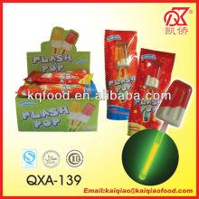 10g Halal Double Color Ice Cream Lollipop Glow