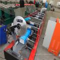 Rodillo de Downspout circular de la hoja de acero del color que forma la máquina
