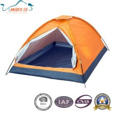 Single Manually Plain Silver Tents