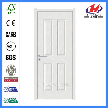 *JHK-004 4 Panel Internal Doors White 4 Panel Prefinished  Door White Interior Doors