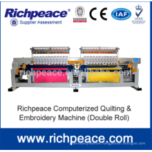 Computer Precise Multi-Color Embroidery And Quilting Machine