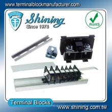 TS-035 conector de terminal de plástico de 35 mm montado em trilho DIN
