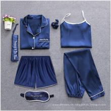 Massiver Pyjama aus Baumwoll-Fannel für bequeme Frauen
