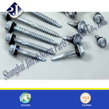 Assembled EPDM Washer Hex Self Drilling Screw