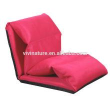 Justierbares Legless liegen einzelnes Sofabett \ Leisure modernes Innengewebe-Material bequemes Stuhl-Art Sofa