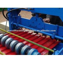 Automatische 760 Metall-Shutter Tür Rollmaschine