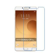 El protector de cristal moderado transparente de alta calidad de la pantalla del borde 2.5D del borde competitivo de alta calidad para Samsung C9 favorable, acepta Paypal