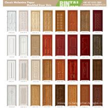 Новая дизайнная деревянная кожаная дверь