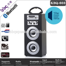 Hot sale infrared remote-controller led bluetooth speaker