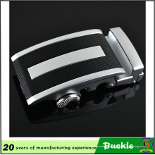Boucle de ceinture en alliage de métal de haute qualité, boucle de ceinture de mode audio noir Figure